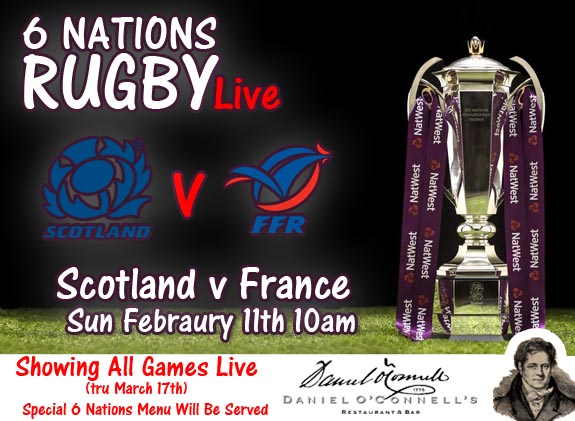 Image result for Scotland vs France rugby six nations live pic logo