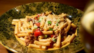 Chorizo Penne Pasta